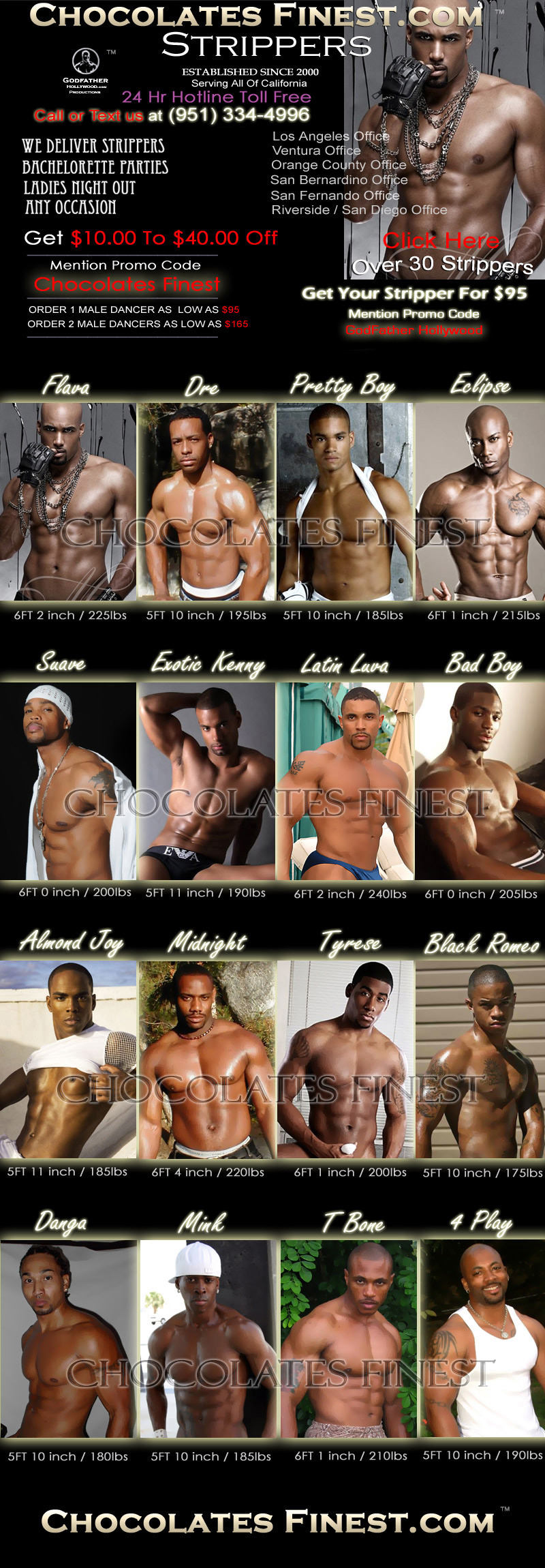 Black Male Dancers Click here